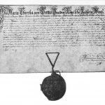 Stiftungsurkunde 25.08.1768